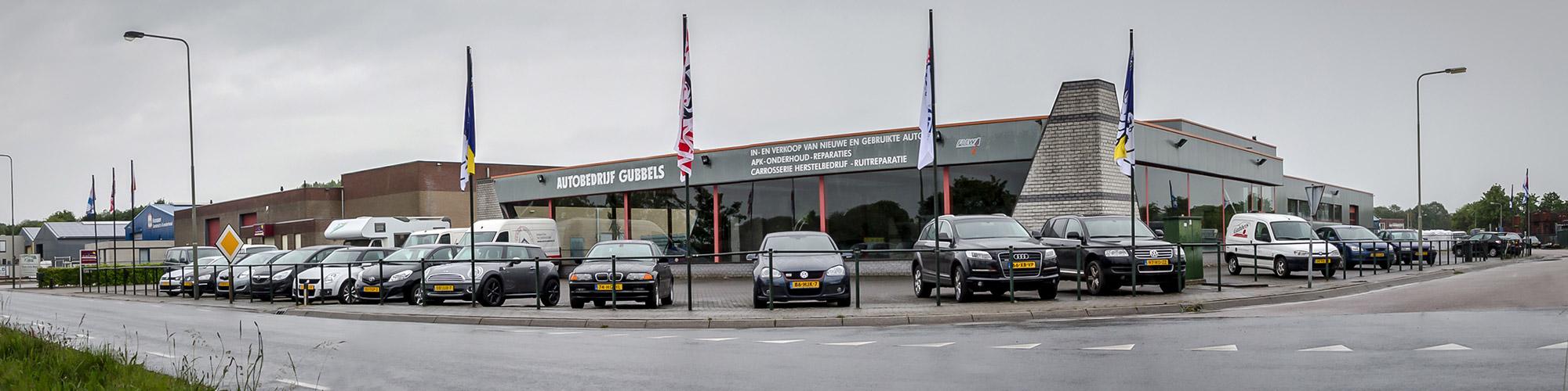 Autobedrijf Gubbels Kelpen pand